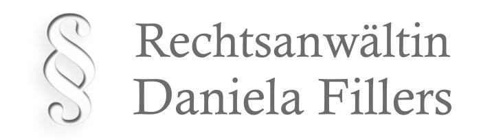 Rechtsanwältin Daniela Fillers
